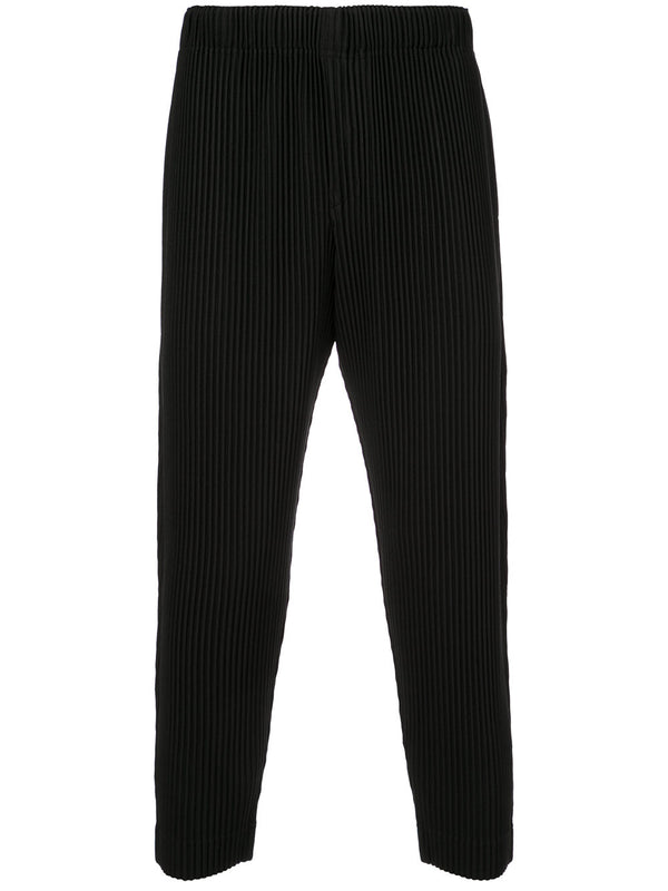 STRAIGHT LEG NARROW PLEAT PANT