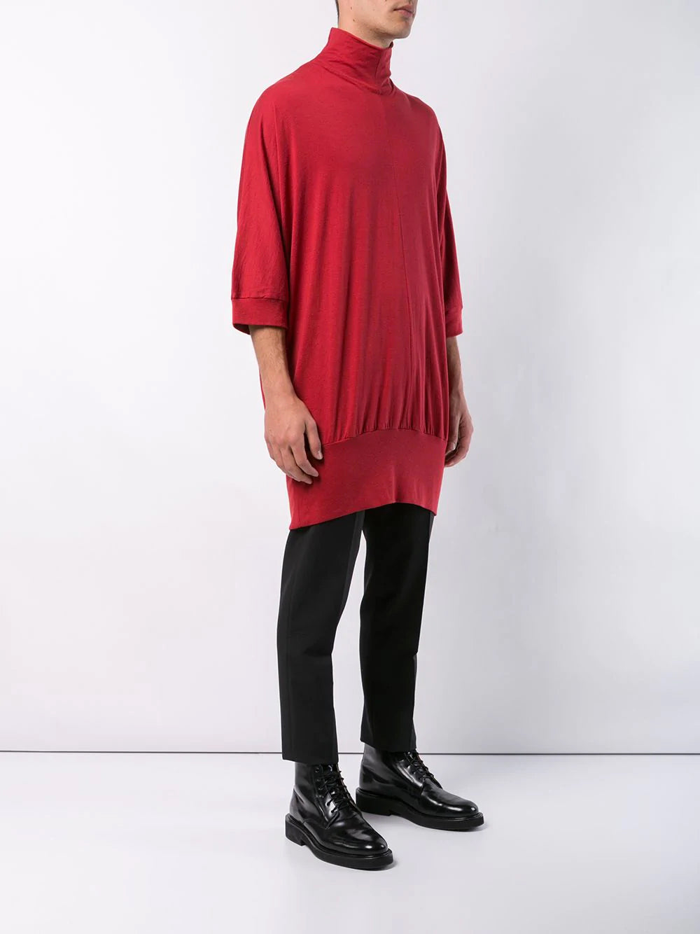 HIGH NECK BIG PULLOVER
