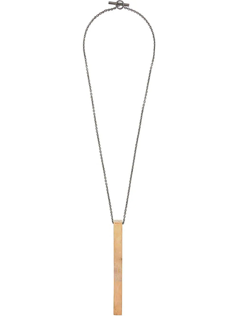 EXCLUSIVE ACID GOLD WEDGE NECKLACE