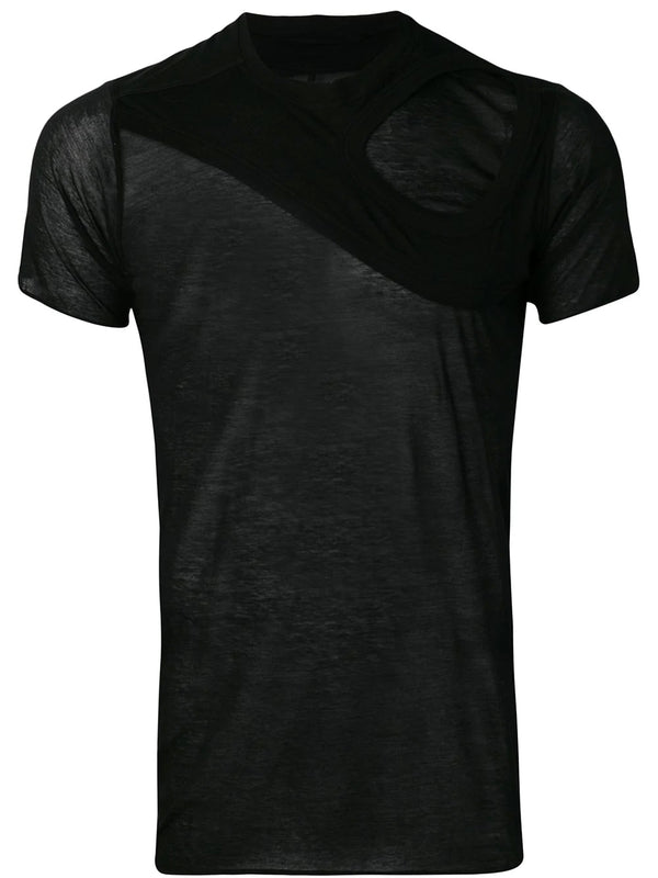 SHORT SLEEVE LEVEL TEE WITH MEMBRANE DETAIL