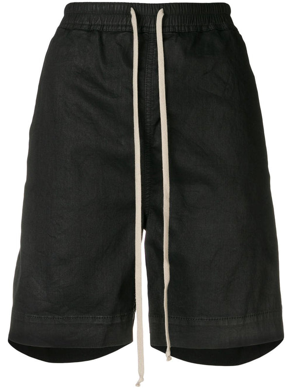 WAXED DENIM BOXER SHORT