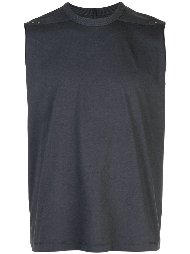 SLEEVELESS SHORT LEVEL TEE
