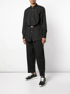 POLY OXFORD GARMENT TREATED PANT