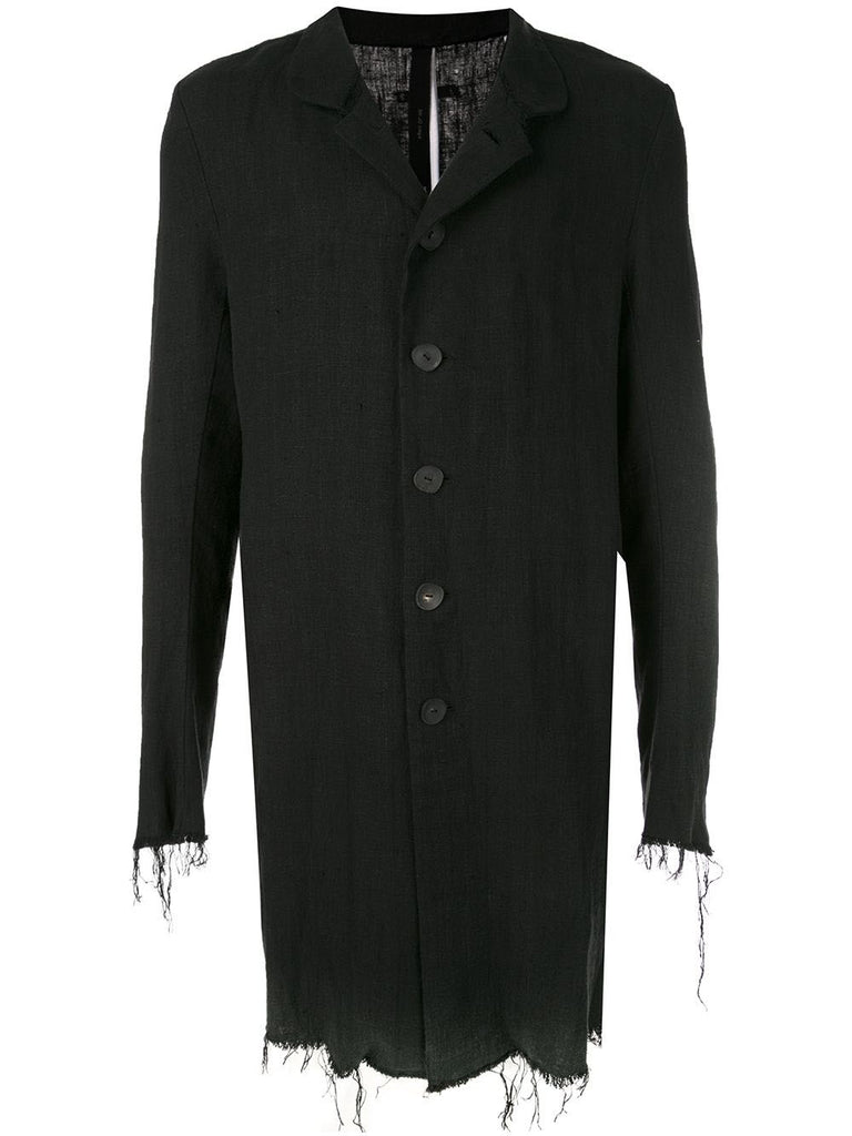LONG BUTTON COAT