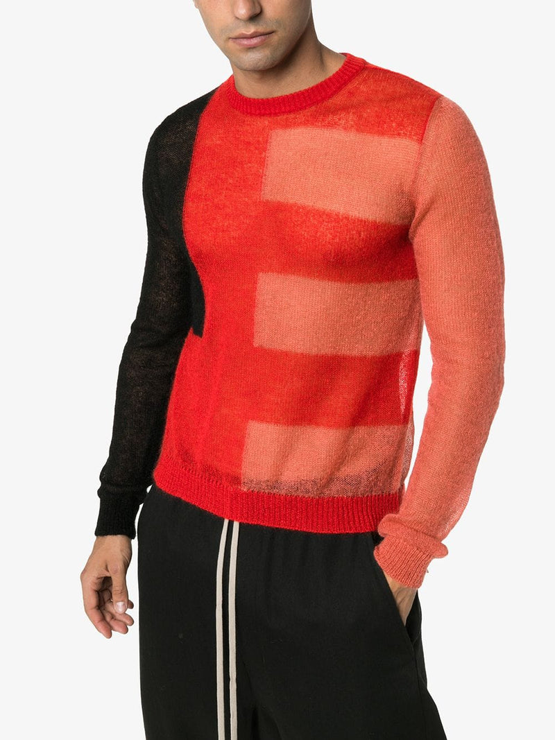 CROPPED BIKER LEVEL MOHAIR SWEATER