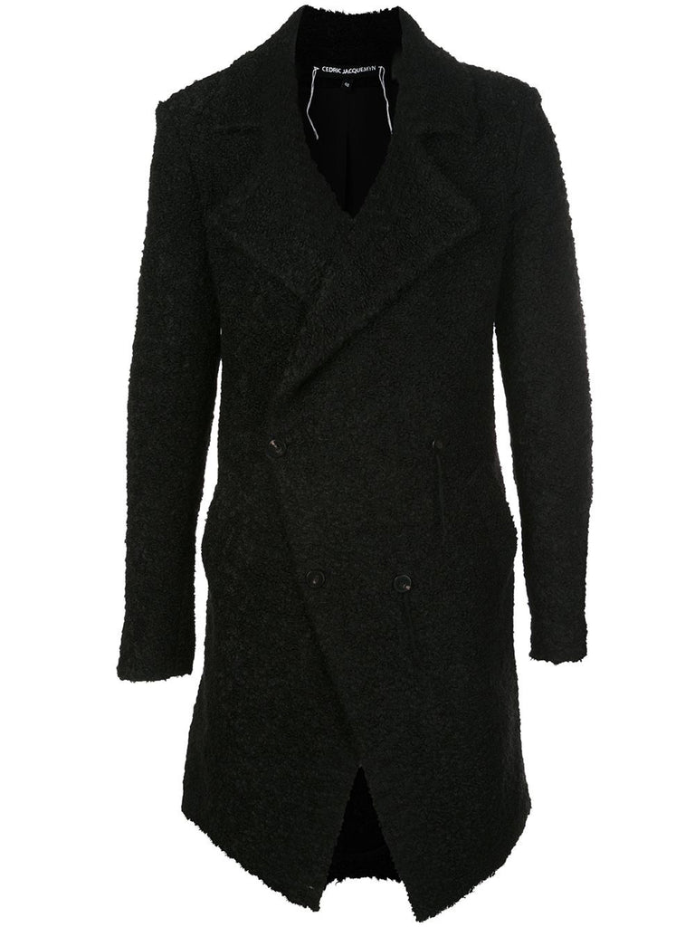 SURI ALPACA SIGNATURE COLLARED COAT