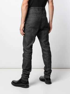 HIGH RISE SKINNY TROUSERS