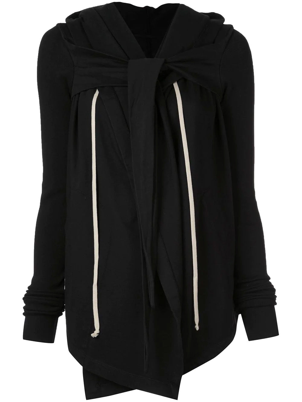 HOODED WRAP JACKET