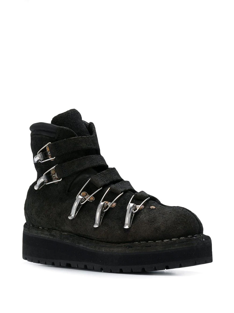 BISON LEATHER SKI BOOT