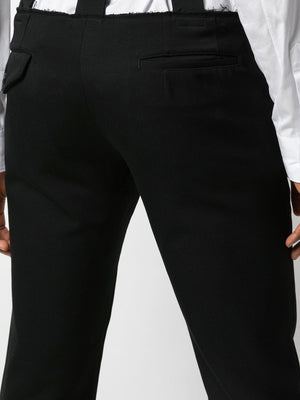 DECONSTRUCTED DOUBLE WAIST TROUSER