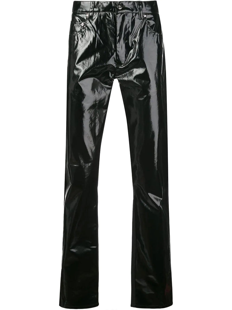 SHINY FIVE POCKET TROUSER