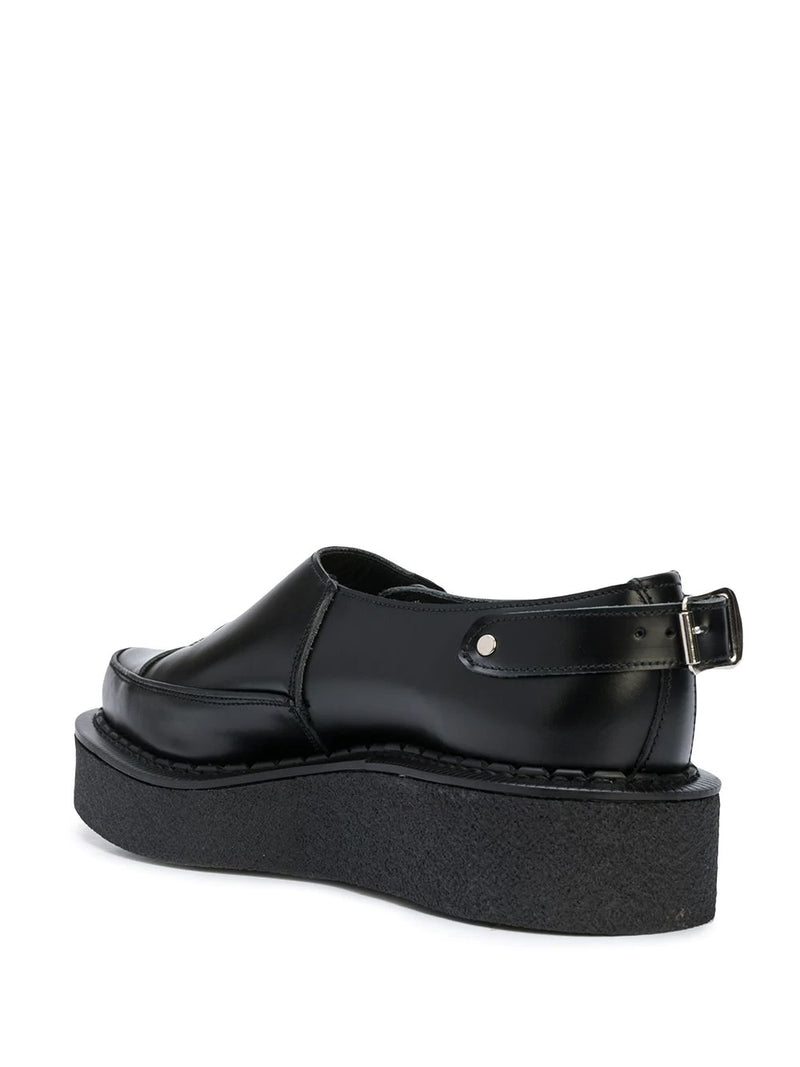 ZIP-DETAIL LOAFERS