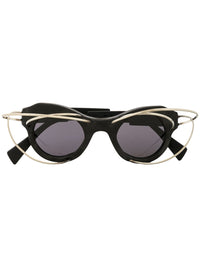L1 WIRE EMBELLISHED SUNGLASSES