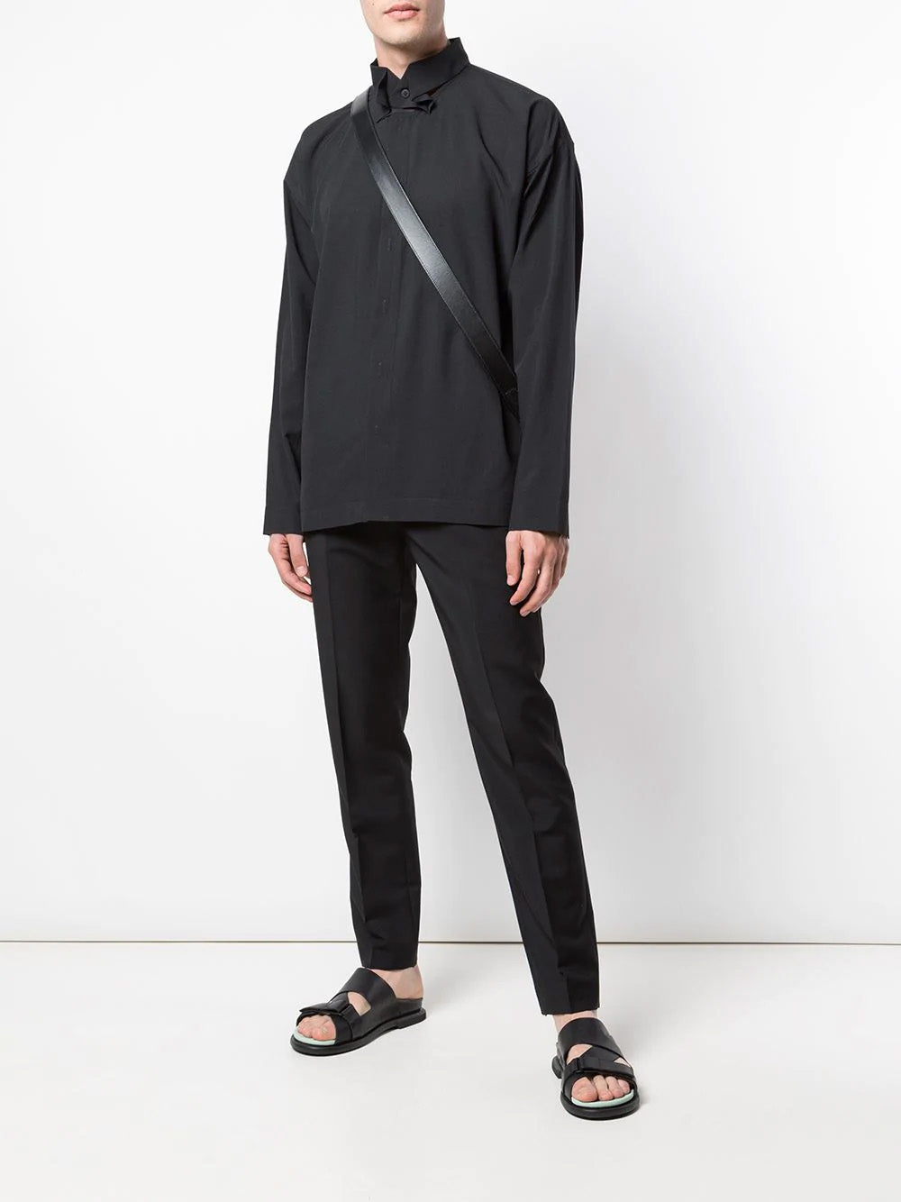 DECONSTRUCTED COLLAR SHIRT