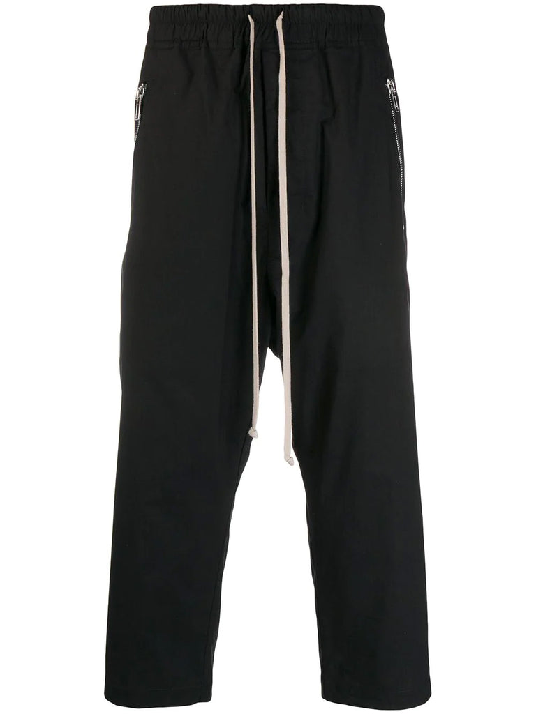 TEQUATYL CROPPED DRAWSTRING TROUSERS