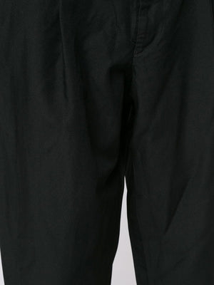 CROPPED TAPER-LEGGED TROUSERS