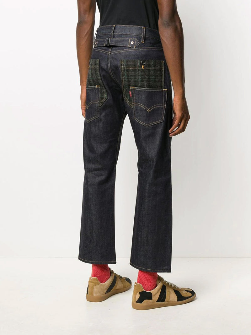 LEVI'S MID RISE STRAIGHT JEANS