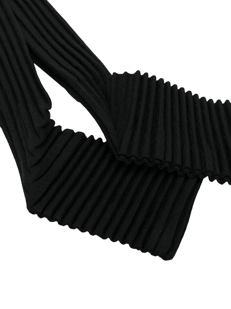 PLEATED TIE