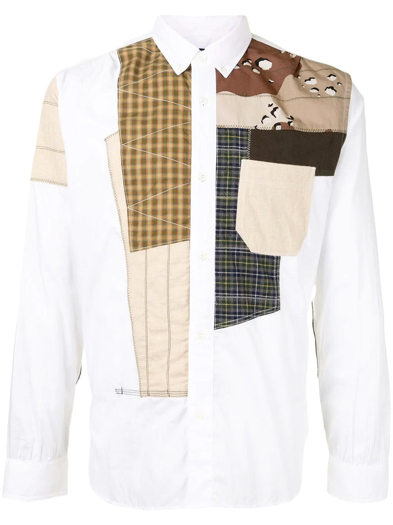 PATCHWOORK DRESS SHIRT