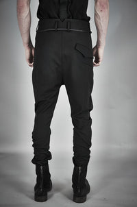 TAILORED WOOL BLEND TROUSERS