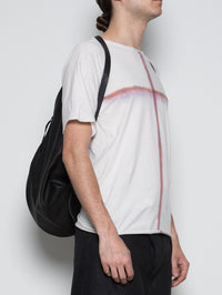 HEART SHAPED LEATHER BACKPACK