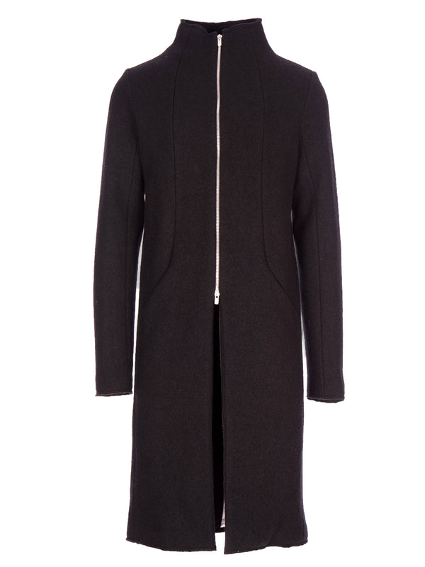 LONG ZIPPER COAT