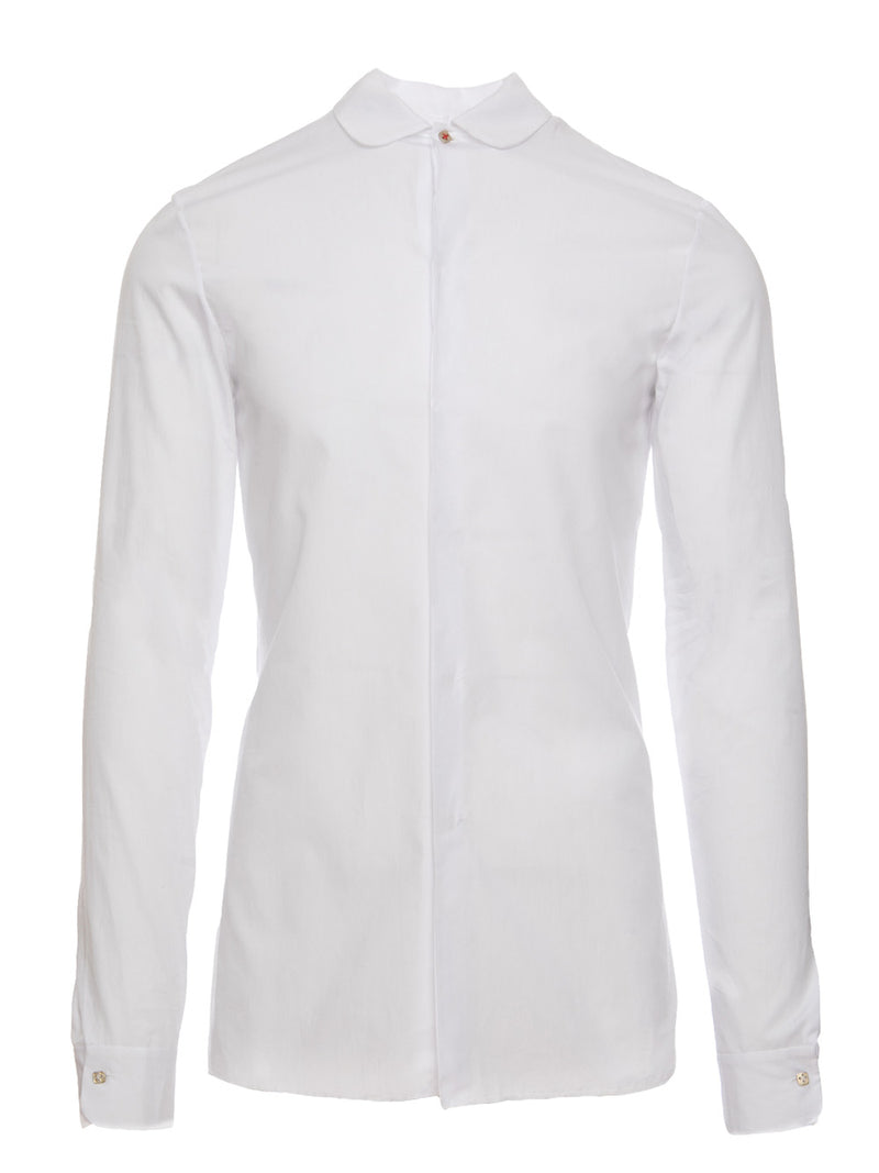 ROUNDED FITTED SHIRT