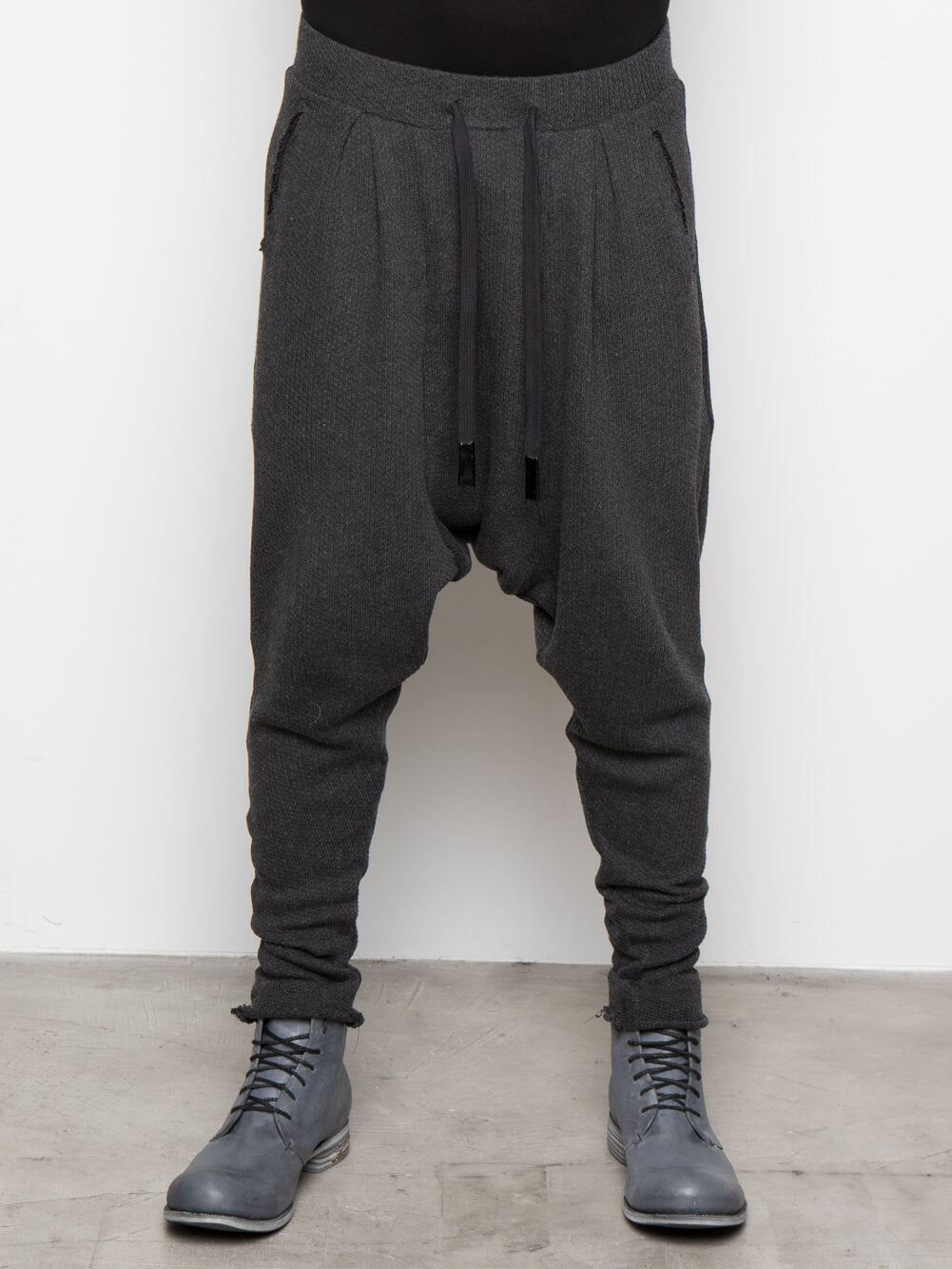 KNITTED DRAWSTRING TROUSER