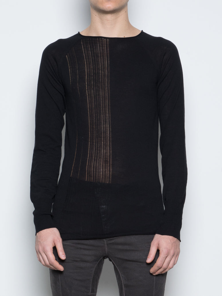 SHEER KNIT SWEATER