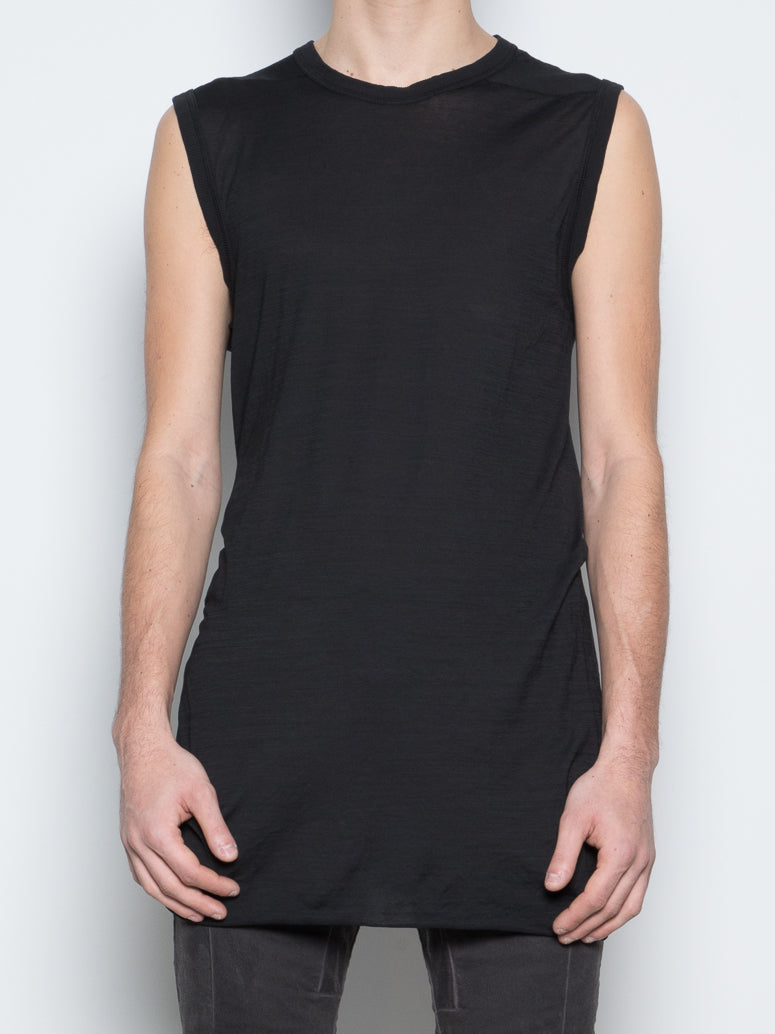 ODJECT DYED SLEEVELESS TEE