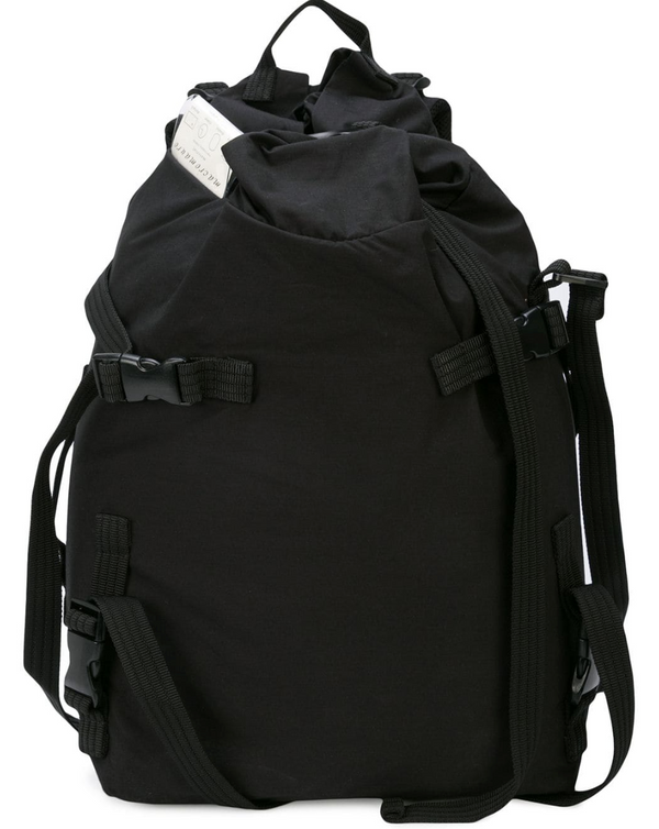 STRAP DETAIL BACKPACK