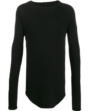 RIBBED LONG SLEEVE JERSEY