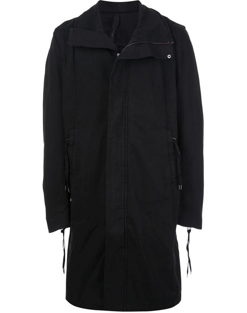 ZIP UP COTTON COAT