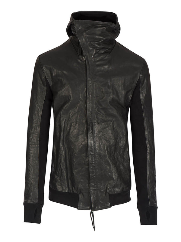 BODY MOLDED LEATHER JACKET