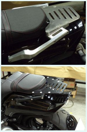 'OTEC' Rack with Pillion Grab Bar