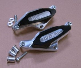 'OTEC' Engine Cover Protectors Engraved 'V-Max' (pair)