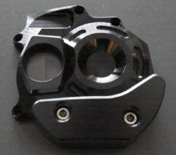 'OTEC' Black Painted Clear Water Pump Cover