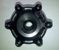 'OTEC' Black Anodised Hub Cover