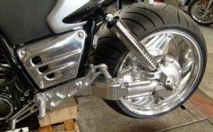 "'OTEC' 330 Swing-Arm with 12"" x 17"" Rear Wheel - Motorcycle Specialist Parts"
