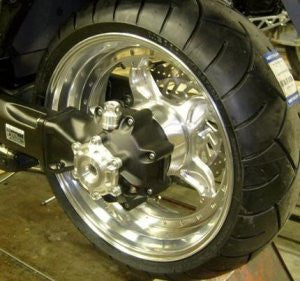 OTEC' 300 Swingarm with 5-Spoke Wheels (pair)