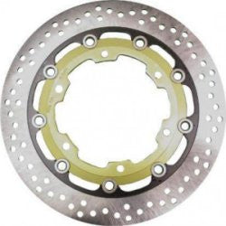 Replacement 'Drilled' Brake Disc 1993-2007 Front (Pair)