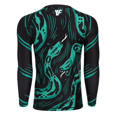 Snake in the Grass - BJJ Rash Guard