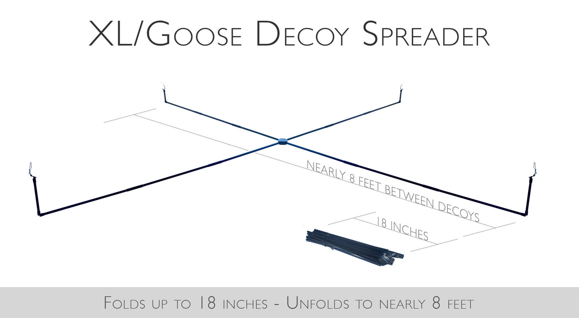 XL/Goose Decoy Spreader with Jerk Rig