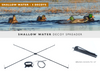 Shallow Water Decoy Spreader and Jerk Line - Single