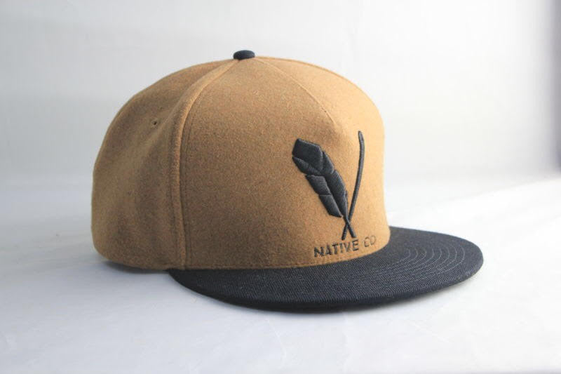 Native Icon Wool Snapback - VOSQ Clothing Co. e439533d730