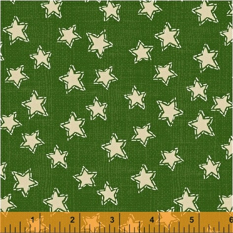 Green Stars Craft Paper Christmas - Na ponta d'agulha