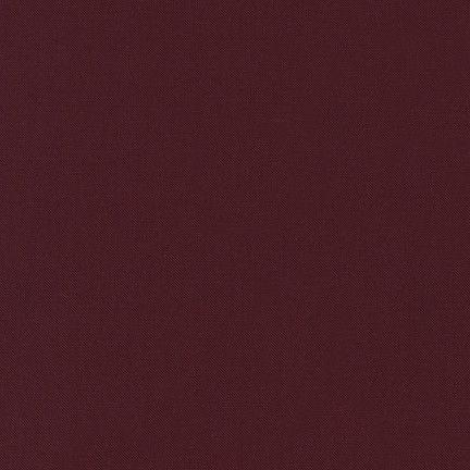 Burgundy Kona Cotton Solids - Na ponta d'agulha