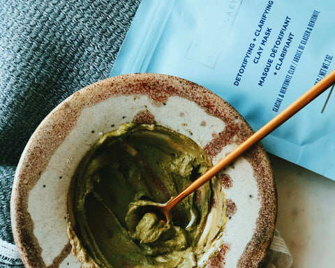 SPRING REFRESH CLAY MASK RECIPE