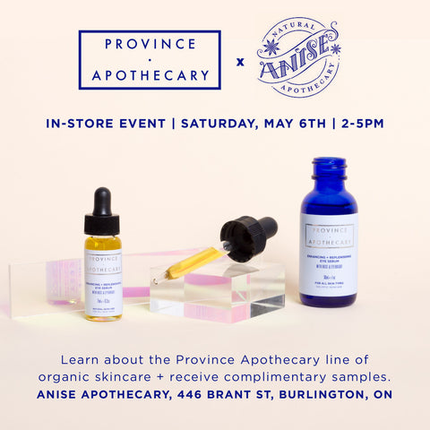 IN-STORE DEMO AT ANISE APOTHECARY