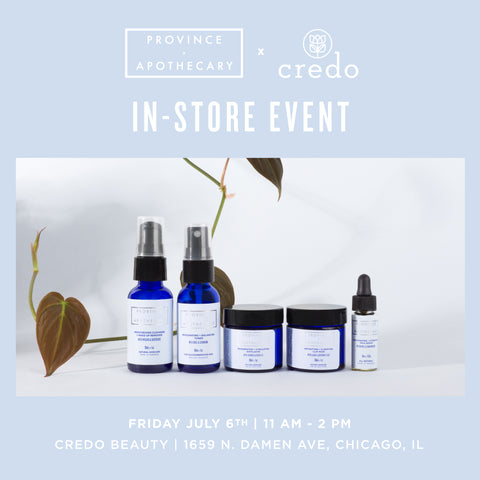 Credo Beauty (Chicago) In-Store Sampling
